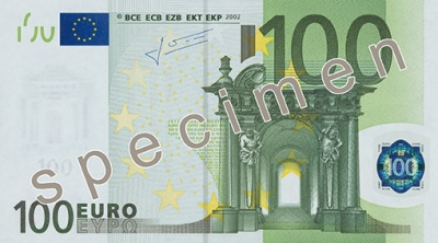 100 Eurobanknote
