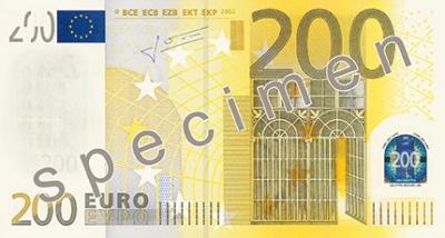 200 Euro Banknote