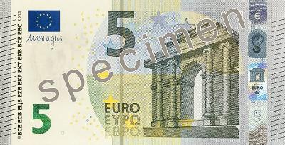 5 Euro Banknoten Abmessungen