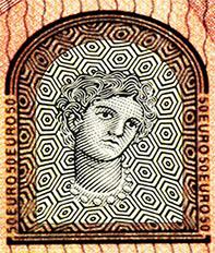50 Euroschein Eurpaserie - Portrait